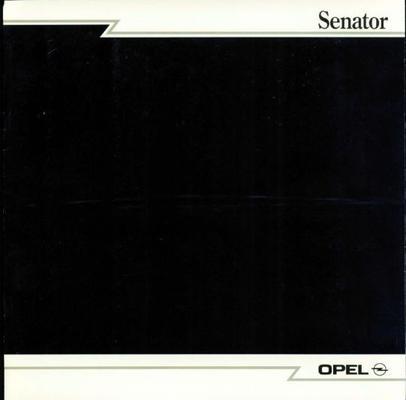 Opel Senator Senator, Senator Cd