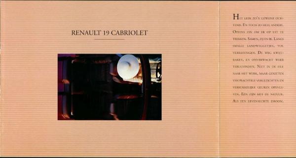 Renault Cabriolet 19