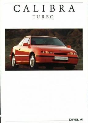 Opel Calibra Turbo,