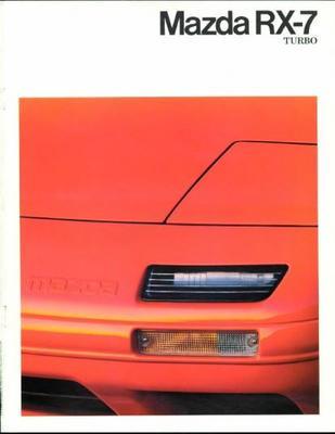 Mazda Rx 7 Turbo Coupe,cabriolet