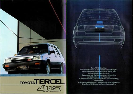 Toyota Tercel 4wd,