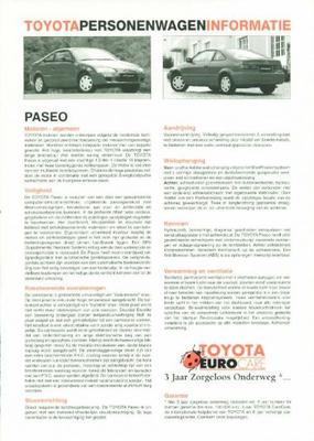 Toyota Paseo 1.5i,1.5,gt,