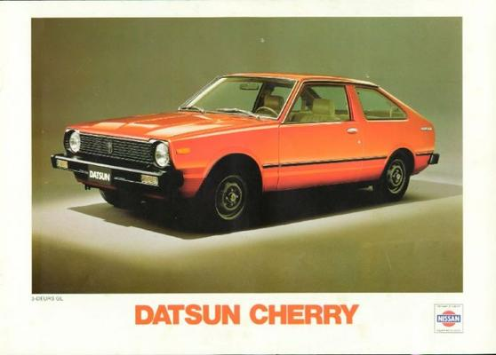 Datsun Cherry Custom,luxe,gl,coupe,stationwagen,be