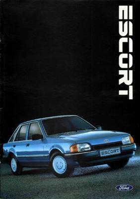 Ford Escort,station Wagon C,cl,ghia,xr3i,cabriolet