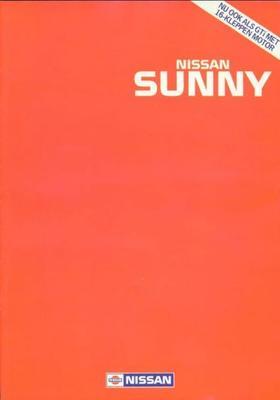 Nissan Sunny Gti,coupe,sgx,slx,lx,l,florida,4x4,st