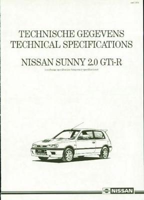 Nissan Sunny 2.0 Gti R