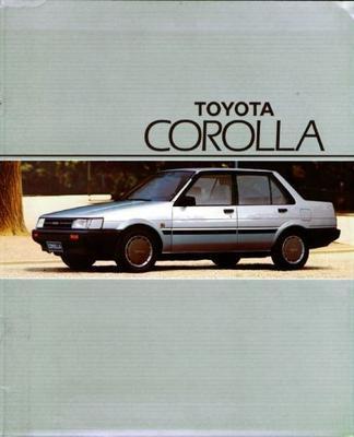 Toyota Corolla Liftback Gl,gt,stationwagon