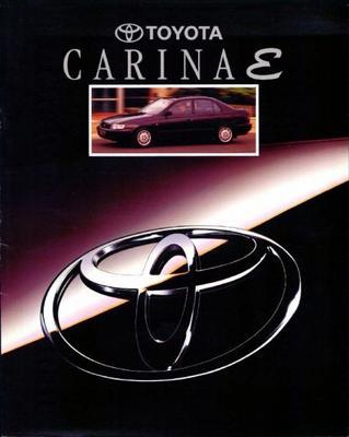 Toyota Carina E Sedan Gli,liftback Xl,xli