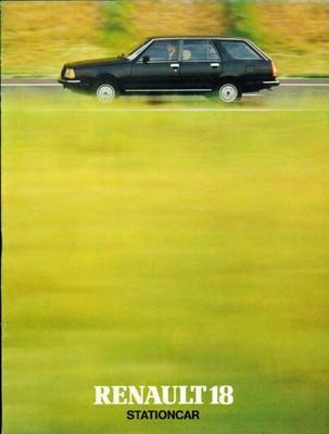 Renault 18 Stationcar,tl,ts,td,