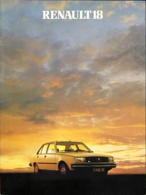 Renault 18 Gtl,td,tl,gtd