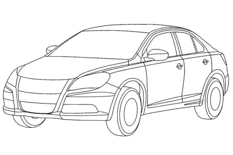 Eerste Schetsen Suzuki Kizashi Op Het Web