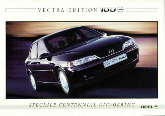 Opel Vectra Edition 100