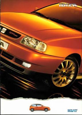Seat Ibiza Gti 16v,gti 2.0 16v,gt Tdi,sxe,se,gt