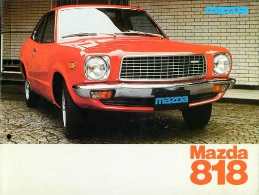 Mazda Sedan,coupe,stationwagen 818