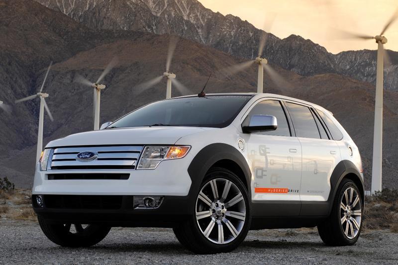 Ford heeft plug-in waterstofauto