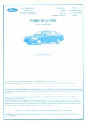 Ford Scorpio Platinum,ghia