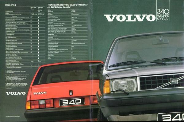 Volvo Winner, Winner Special 340