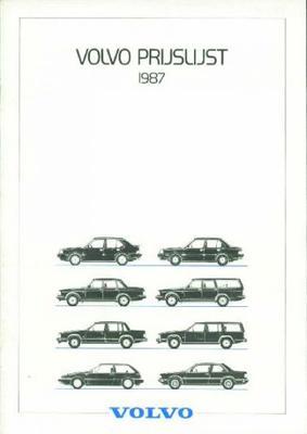 Volvo Prijslijst Vd Series 340360240740760480-780