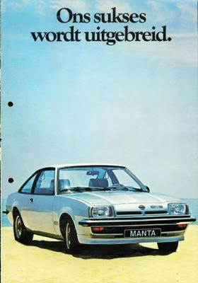 Opel Manta Gt,cc,