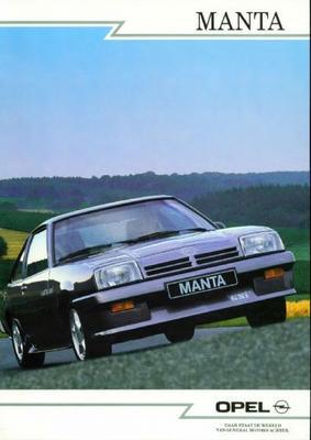 Opel Manta Gsi,gt