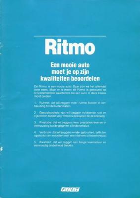 Fiat Ritmo 60l,65 Cl,ritmo Super,super 85,ritmo Di