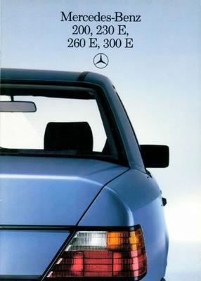 Mercedes-benz  300e,200,230e,260e