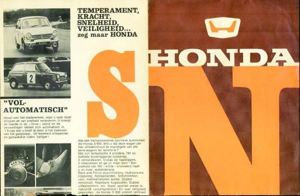Honda N360,n600,aut,n360,n400l,s800,n600gtl,n600at
