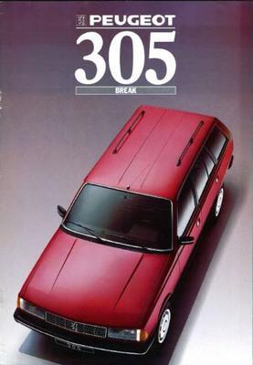 Peugeot  305 Break Gl,gld,gr,grd