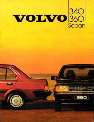 Volvo 340.360 340 Dl,gl,360 Gls,gle,sedan