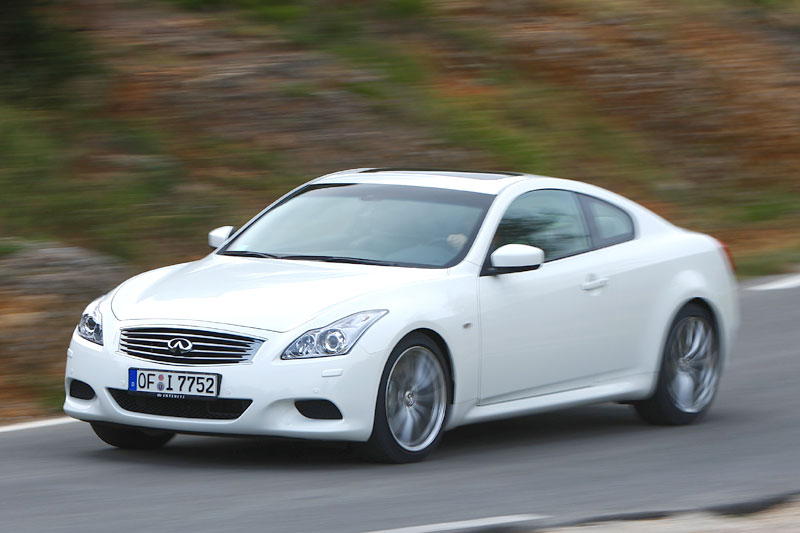 Infiniti g37 s coupe eerste rijtest - Infiniti g37 coupe occasion ...