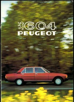 Peugeot 604 Sl,sti,grd Turbo,srd Turbo