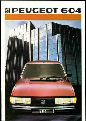 Peugeot 604 Gti,gtd