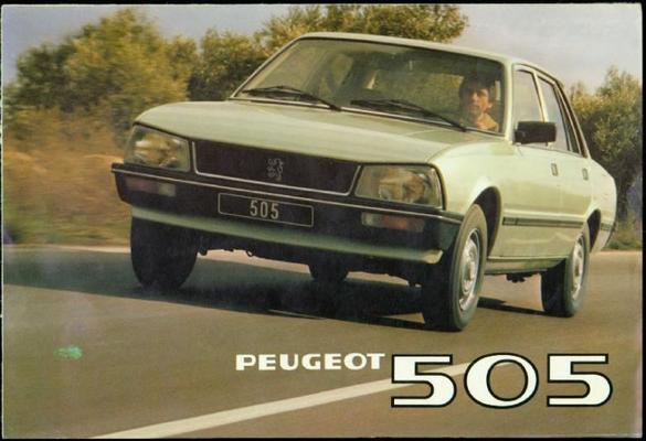 Peugeot 505 Gr,ti,grd,sr,sti,srd