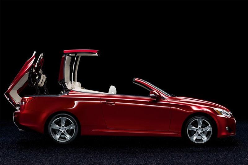 Dit is de Lexus IS Cabrio!