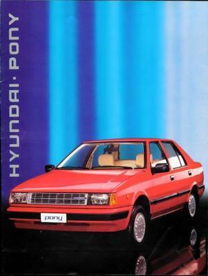 Hyundai Pony Xp Gls,l,le,gl