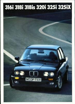 BMW 316i,318i, 318is,320i,325i,325ix