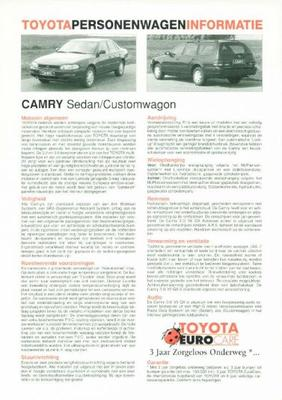 Toyota Camry Sedan,customwagon,gl,gx,xl