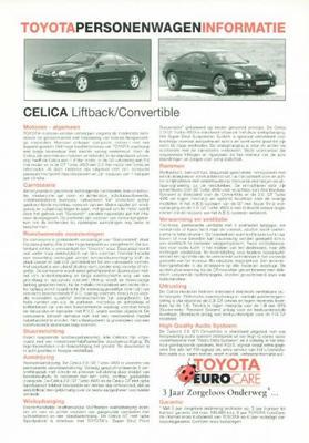 Toyota Celica Liftback,convertible,gt,gt Turbo