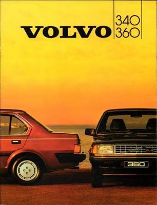 Volvo 340.360 340 Gl,360 Gls,gle,sedan