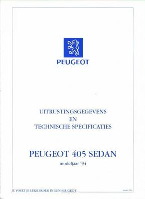 Peugeot Sedan 405