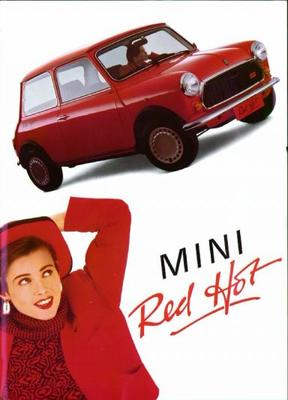Austin Mini Red Hot Red Hot