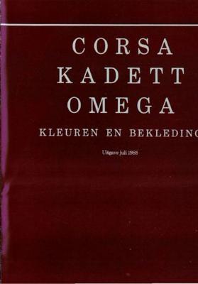 Opel Kadett,omega