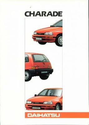 Daihatsu Charade Ts,cs,gtti,tx,cx,txf