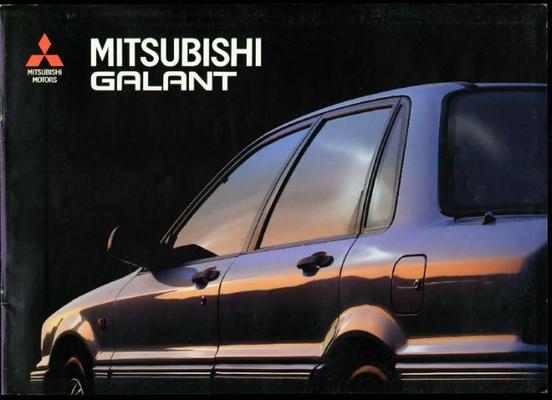 Mitsubishi Galant 2.0 Glsix2.0 Gti-16v,2.0glsiaut,