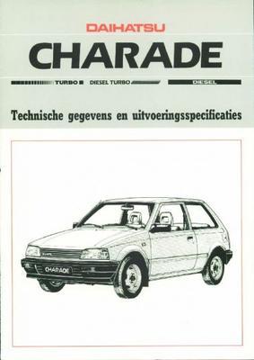 Daihatsu Charade Turbo,diesel,gti