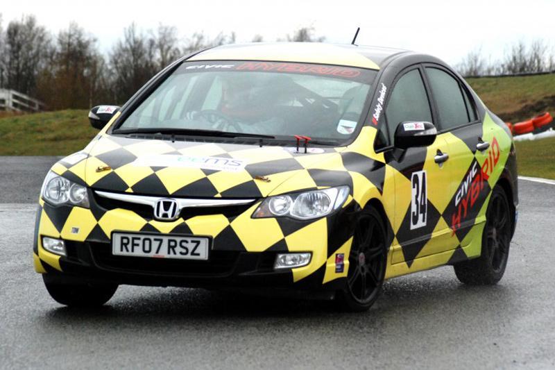 Lotus maakt Civic Hybrid racerijp