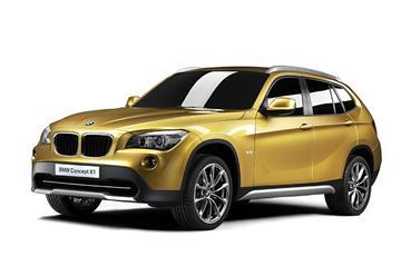 BMW X1 concept: kleine SUV's worden goud