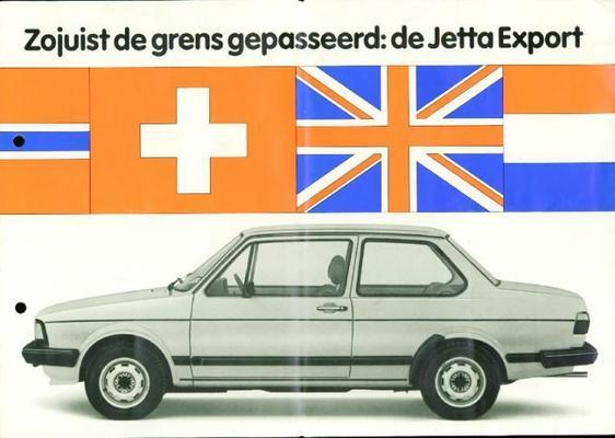 Volkswagen Jetta Export De Luxe
