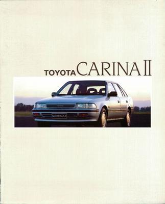 Toyota Carina Ii Liftback Gli,sedan Xl,stationwago