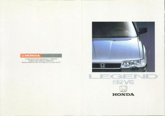 Honda Legend 2,7i V6 Sedan